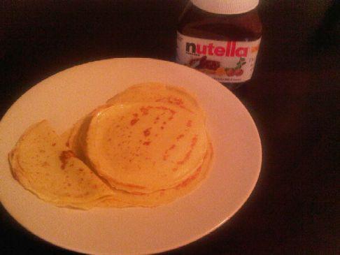 Palacinke - French Crepes (makes 16 small crepes)
