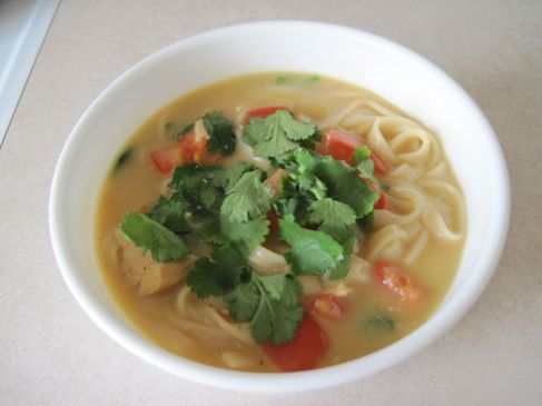Coconut-Lime Chicken Soup