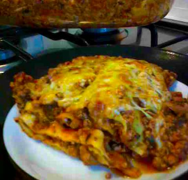 Ground Beef and Spinach Lasagne Recipe | SparkRecipes