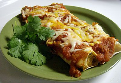 Fiesta Chicken Enchiladas (Lighter Version)