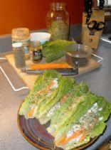 Thai Curry Lettuce Wraps