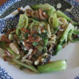 Bok Choy with Noodles