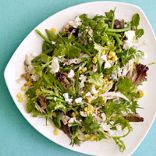 Baby Greens with Chicken & Goat Cheese