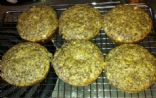 Banana Flaxseed Muffins (high protein, low calorie!)