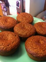Rich Gingerbread Muffins