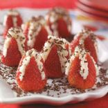 Chocolate-Almond Strawberry Bites