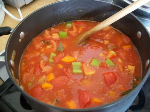 Soup, Maureen's Minestrone Soup