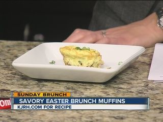 Savory Easter Brunch Muffins