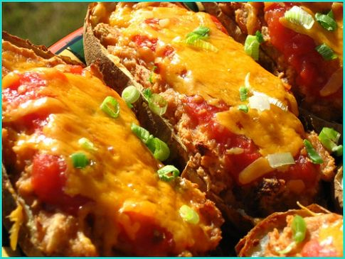 Texas Twice Baked Potatoes