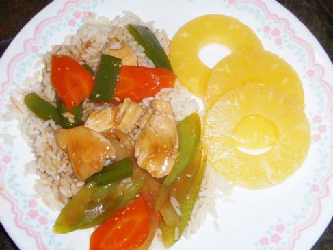 Basic Chicken Stir Fry
