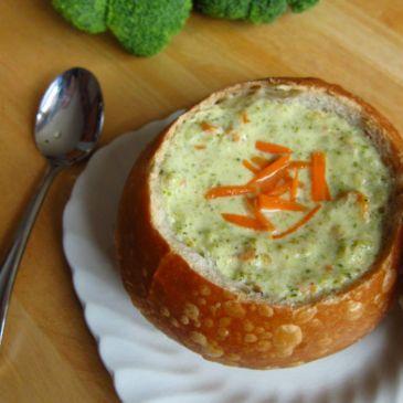 Broccoli Cheddar Soup (Seymour)