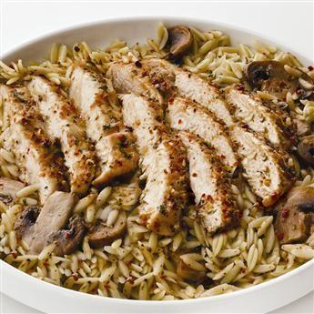 Garlic & Wite Wine Chicken Scaloppine