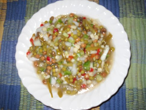 Cold Vegetable Salad (1/2 cup.)