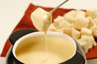Traditional Swiss Fondue