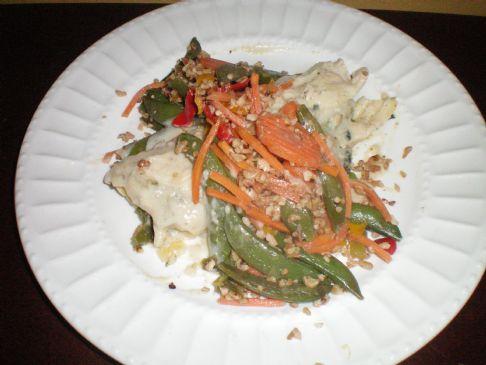 Pumpkin Kale Manicotti