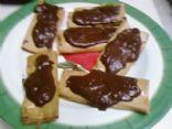 Quicki Cannoli w/ chocolate filling