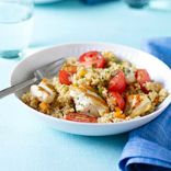 Chicken Couscous with Cherry Tomatoes