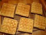 Whole Wheat Flaxseed Belgian Waffles