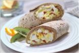 Bacon-Egg Salad Wrap