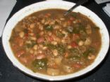 Vegan Sausage and Bean Soup