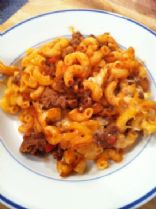 Baked Italian Meat and Pasta casserole