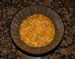 Roasted Pepper & Chicken Barley Soup