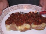 Sloppy Joe Baked Potatoe