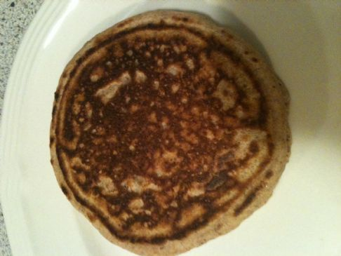 Low cal whole wheat pancakes