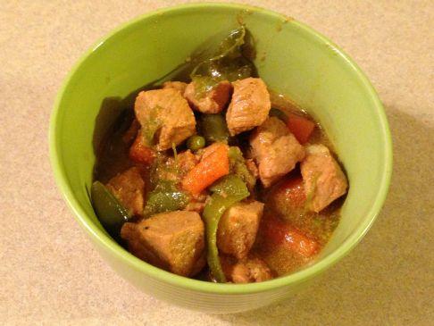 Pork & Veggie stew