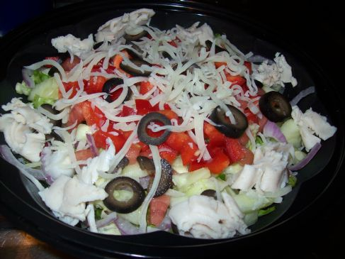 Better than Fast Food Chopped Salad