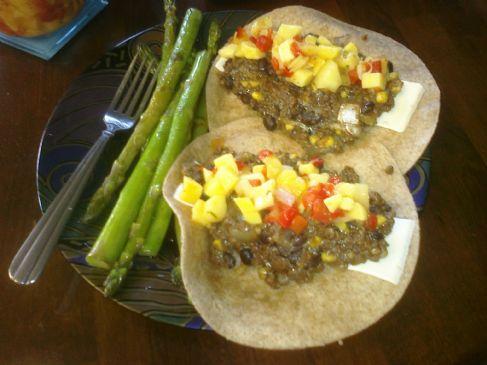 Southwestern Style Vegetarian Taco/Burrito Filling