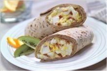 Bacon-Egg Salad Wrap