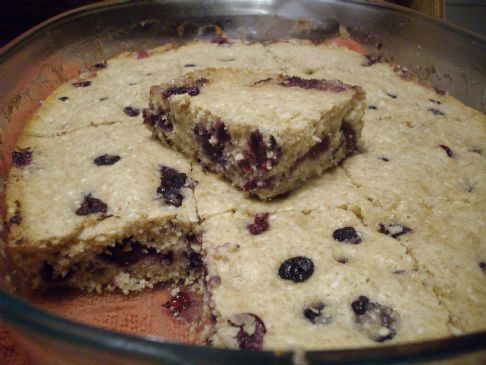 Whole Wheat Blueberry Sesame Seed Cake