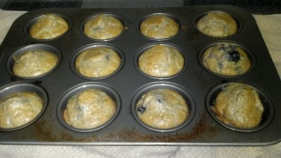 Easy Low Carb Blueberry Muffins