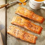 Roast Salmon With Thai Red Curry Sauce
