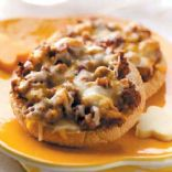 English Muffin Pizza Burgers