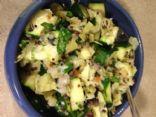 Zucchini Artichoke Quinoa Salad