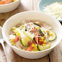 Creamy Summer Vegetable Stew
