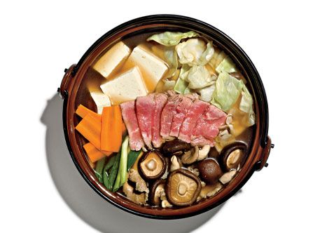 Japanese Beef Hot Pot