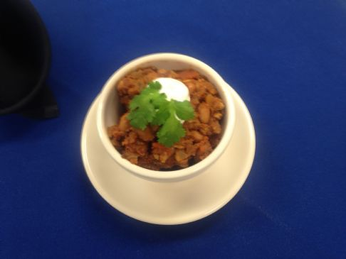 Pinto Beans with Mexican style seasoning