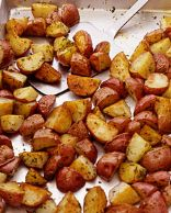 Oven Roasted Red Fries
