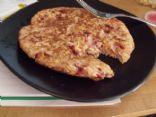 Strawberry Orange Vanilla Oatmeal Pancakes