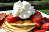 Cottage Cheese 'Blintz' Pancakes
