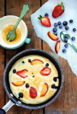 Honey Cloud Pancakes