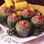 Stuffed Peppers with Brown Rice
