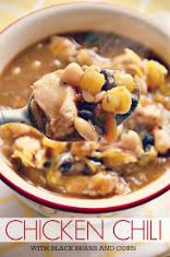 Black Bean Chicken Stew