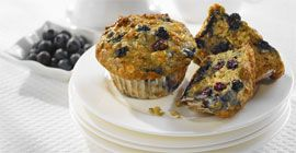 Lemon Berry Yogurt Muffins (Trillium1204)