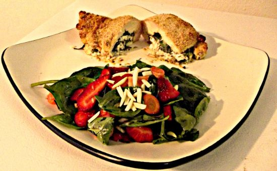 Florentine Stuffed Chicken