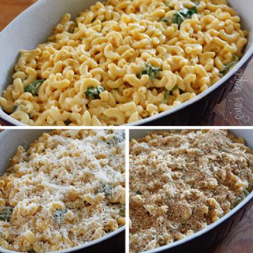 Lighter Baked Macaroni and Cheese - Gina's Skinny Recipes