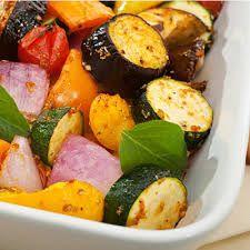 Oven Roasted Vegetables - no salt